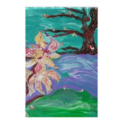 Magnolia By The River Bank Shower Curtain 48  X 72  (small)