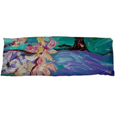 Magnolia By The River Bank Body Pillow Case Dakimakura (two Sides)