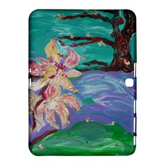 Magnolia By The River Bank Samsung Galaxy Tab 4 (10 1 ) Hardshell Case