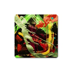 Enigma 1 Square Magnet by bestdesignintheworld