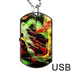 Enigma 1 Dog Tag Usb Flash (one Side) by bestdesignintheworld