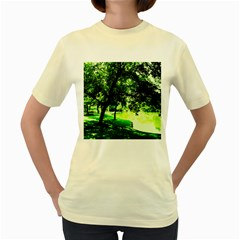 Lake Park 17 Women s Yellow T Shirt