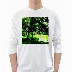 Lake Park 17 White Long Sleeve T Shirts