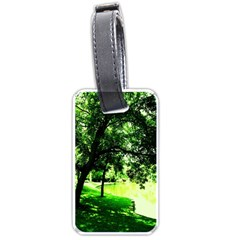 Lake Park 17 Luggage Tags (one Side)