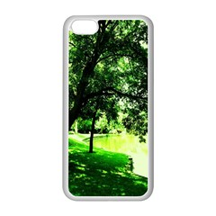 Lake Park 17 Apple Iphone 5c Seamless Case (white)