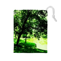 Lake Park 17 Drawstring Pouches (large)
