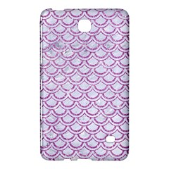 Scales2 White Marble & Purple Glitter (r) Samsung Galaxy Tab 4 (8 ) Hardshell Case