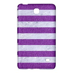 Stripes2white Marble & Purple Denim Samsung Galaxy Tab 4 (7 ) Hardshell Case