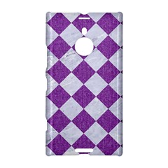 Square2 White Marble & Purple Denim Nokia Lumia 1520