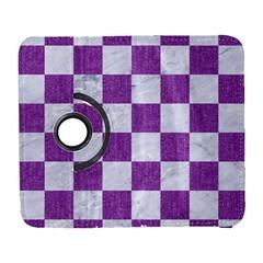 Square1 White Marble & Purple Denim Galaxy S3 (flip/folio)