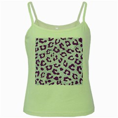 Skin5 White Marble & Purple Denim Green Spaghetti Tank