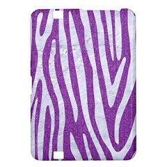 Skin4 White Marble & Purple Denim (r) Kindle Fire Hd 8 9