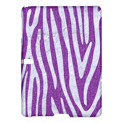 Skin4 White Marble & Purple Denim (r) Samsung Galaxy Tab S (10 5 ) Hardshell Case
