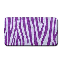 Skin4 White Marble & Purple Denim Medium Bar Mats
