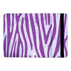 Skin4 White Marble & Purple Denim Samsung Galaxy Tab Pro 10 1  Flip Case
