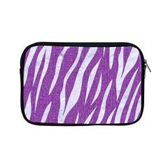 Skin3 White Marble & Purple Denim Apple Ipad Mini Zipper Cases