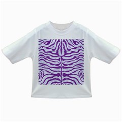 Skin2 White Marble & Purple Denim (r) Infant/toddler T Shirts