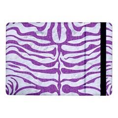 Skin2 White Marble & Purple Denim (r) Samsung Galaxy Tab Pro 10 1  Flip Case
