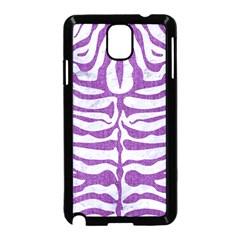 Skin2 White Marble & Purple Denim (r) Samsung Galaxy Note 3 Neo Hardshell Case (black) by trendistuff