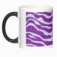 Skin2 White Marble & Purple Denim Morph Mugs by trendistuff