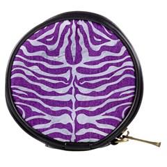 Skin2 White Marble & Purple Denim Mini Makeup Bags
