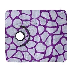 Skin1 White Marble & Purple Denim Galaxy S3 (flip/folio)