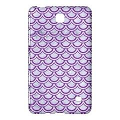 Scales2 White Marble & Purple Denim (r) Samsung Galaxy Tab 4 (7 ) Hardshell Case