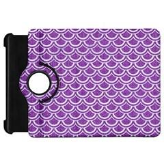 Scales2 White Marble & Purple Denim Kindle Fire Hd 7