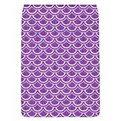 Scales2 White Marble & Purple Denim Flap Covers (l)  by trendistuff
