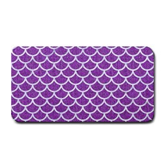 Scales1 White Marble & Purple Denim Medium Bar Mats