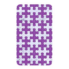 Puzzle1 White Marble & Purple Denim Memory Card Reader