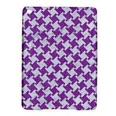 Houndstooth2 White Marble & Purple Denim Ipad Air 2 Hardshell Cases by trendistuff