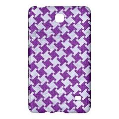 Houndstooth2 White Marble & Purple Denim Samsung Galaxy Tab 4 (8 ) Hardshell Case