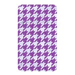 HOUNDSTOOTH1 WHITE MARBLE & PURPLE DENIM Memory Card Reader Front