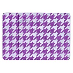 Houndstooth1 White Marble & Purple Denim Samsung Galaxy Tab 8 9  P7300 Flip Case