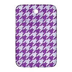 Houndstooth1 White Marble & Purple Denim Samsung Galaxy Note 8 0 N5100 Hardshell Case