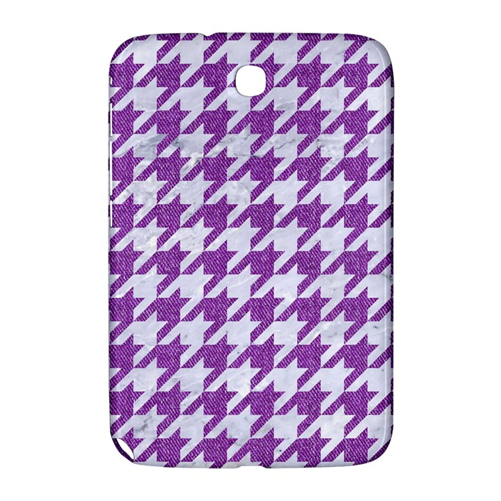 HOUNDSTOOTH1 WHITE MARBLE & PURPLE DENIM Samsung Galaxy Note 8.0 N5100 Hardshell Case