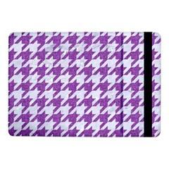 Houndstooth1 White Marble & Purple Denim Samsung Galaxy Tab Pro 10 1  Flip Case by trendistuff