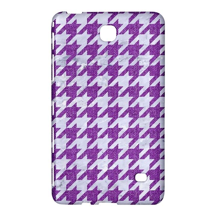 HOUNDSTOOTH1 WHITE MARBLE & PURPLE DENIM Samsung Galaxy Tab 4 (7 ) Hardshell Case