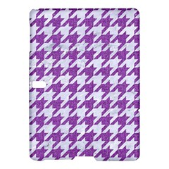 Houndstooth1 White Marble & Purple Denim Samsung Galaxy Tab S (10 5 ) Hardshell Case