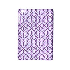 Hexagon1 White Marble & Purple Denim (r) Ipad Mini 2 Hardshell Cases
