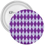 DIAMOND1 WHITE MARBLE & PURPLE DENIM 3  Buttons