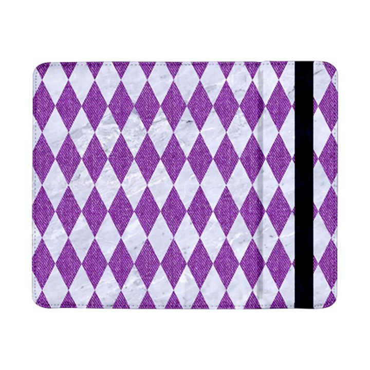 DIAMOND1 WHITE MARBLE & PURPLE DENIM Samsung Galaxy Tab Pro 8.4  Flip Case