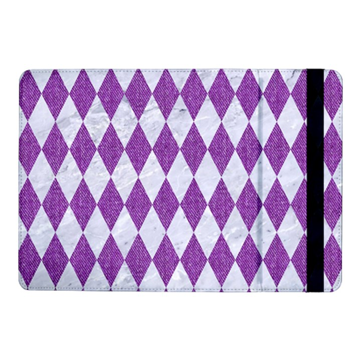 DIAMOND1 WHITE MARBLE & PURPLE DENIM Samsung Galaxy Tab Pro 10.1  Flip Case