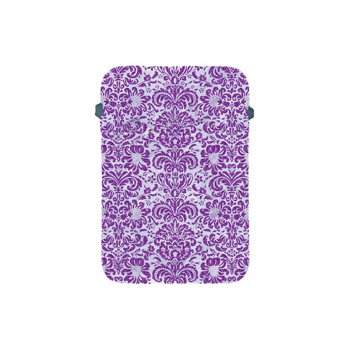 DAMASK2 WHITE MARBLE & PURPLE DENIM (R) Apple iPad Mini Protective Soft Cases