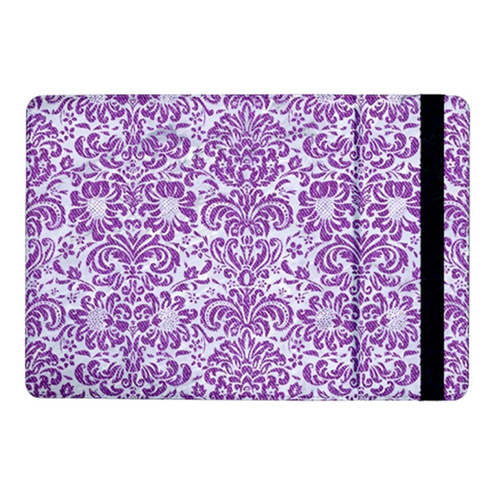 DAMASK2 WHITE MARBLE & PURPLE DENIM (R) Samsung Galaxy Tab Pro 10.1  Flip Case
