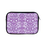 DAMASK2 WHITE MARBLE & PURPLE DENIM (R) Apple MacBook Pro 15  Zipper Case Front