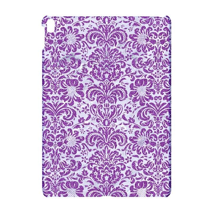 DAMASK2 WHITE MARBLE & PURPLE DENIM (R) Apple iPad Pro 10.5   Hardshell Case