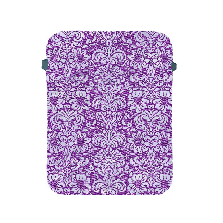 DAMASK2 WHITE MARBLE & PURPLE DENIM Apple iPad 2/3/4 Protective Soft Cases