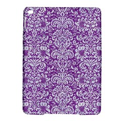 Damask2 White Marble & Purple Denim Ipad Air 2 Hardshell Cases
